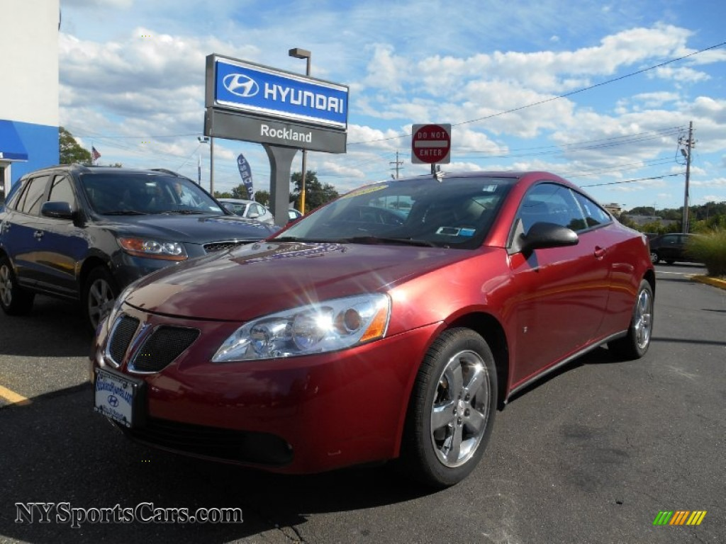 2009 Pontiac G6 GT Coupe in Performance Red Metallic photo ...