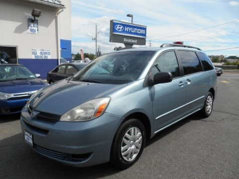 Blue Mirage Metallic 2004 Toyota Sienna LE