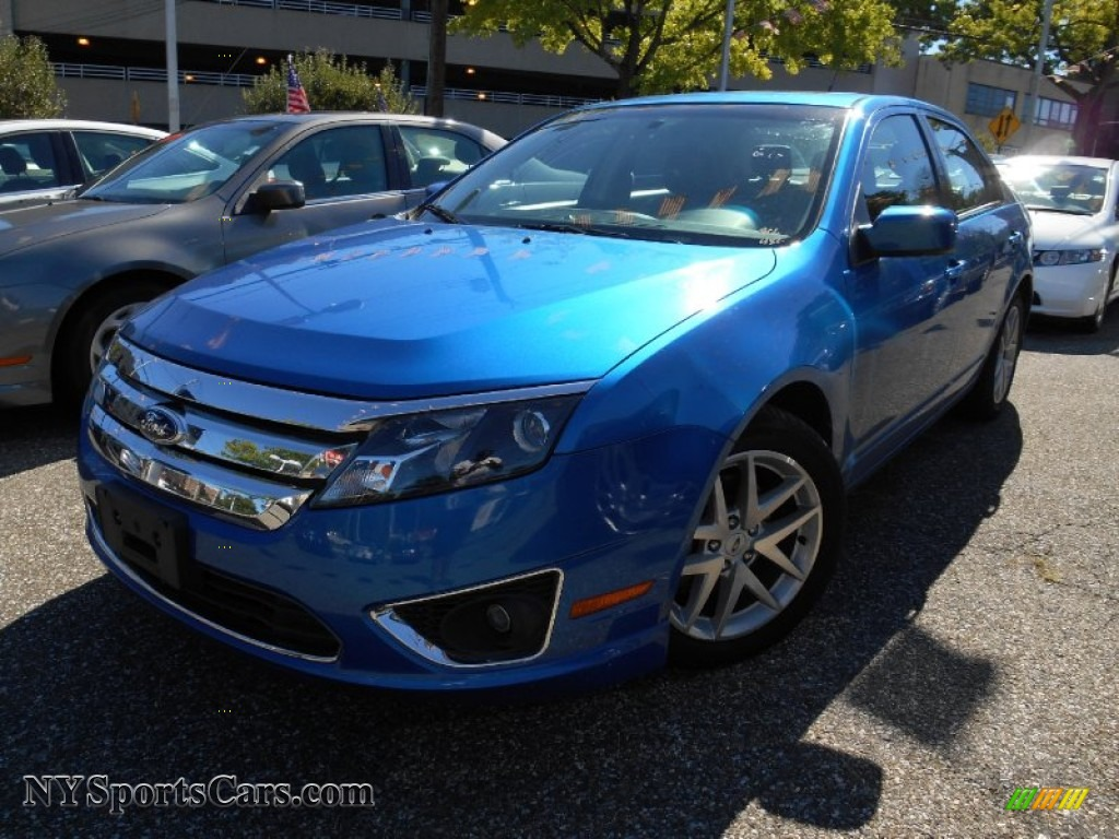 2011 ford fusion sel in blue flame metallic 326969 cars for sale in new york. Black Bedroom Furniture Sets. Home Design Ideas