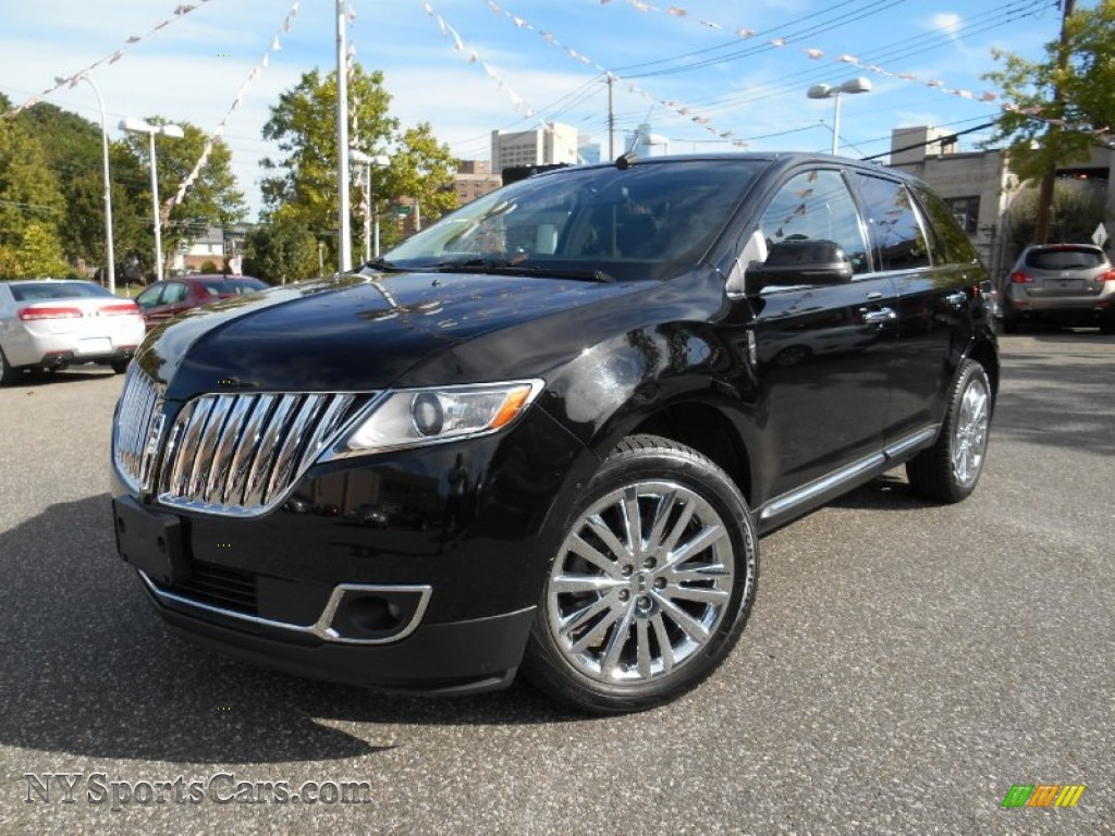 2012 lincoln mkx awd in black l00256 cars for sale in new york. Black Bedroom Furniture Sets. Home Design Ideas
