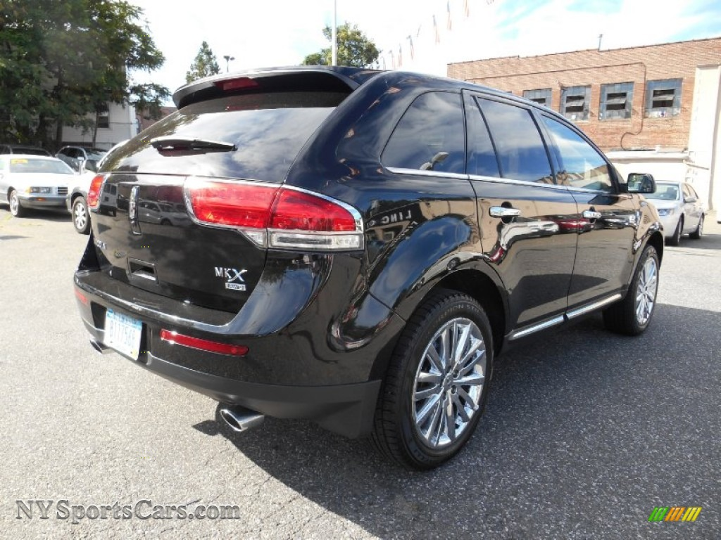2012 lincoln mkx awd in black photo 7 l00256 cars for sale in new york. Black Bedroom Furniture Sets. Home Design Ideas