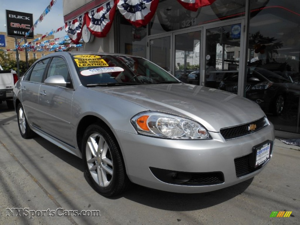 2013 chevrolet impala ltz in silver ice metallic 171791. Black Bedroom Furniture Sets. Home Design Ideas
