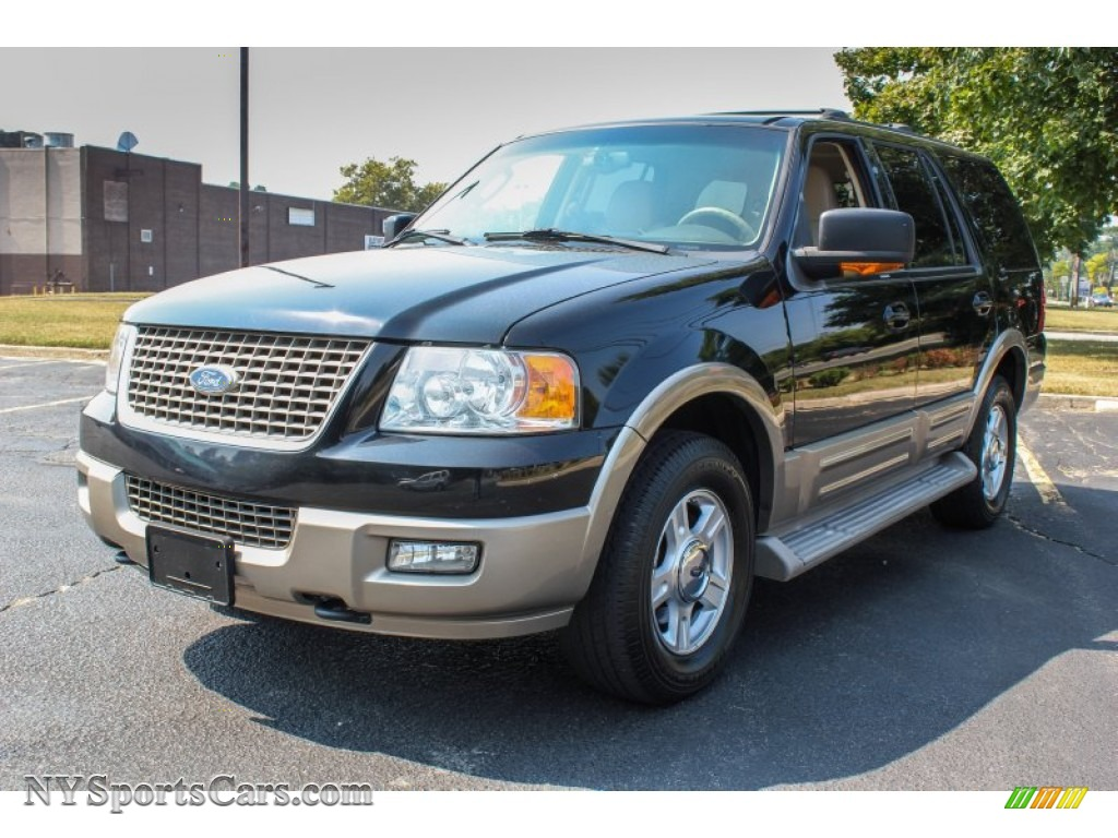 2004 ford expedition eddie bauer 4x4 in black b54174. Black Bedroom Furniture Sets. Home Design Ideas