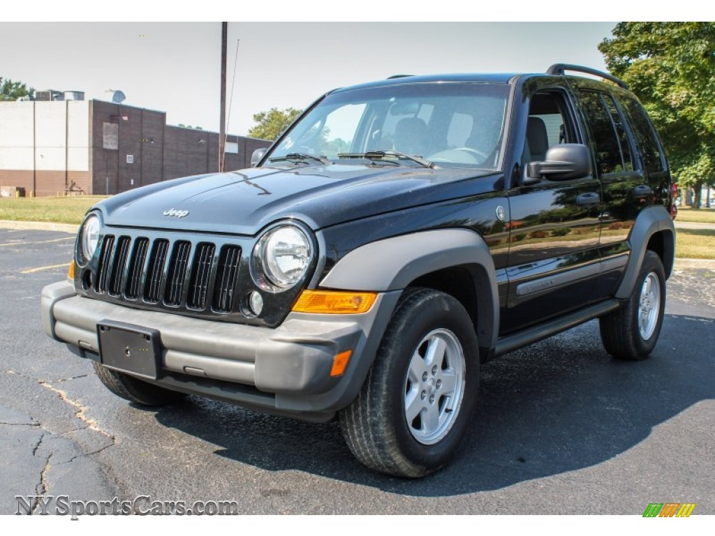 2005 jeep liberty sport 4x4 in black clearcoat 552275 cars for sale in. Black Bedroom Furniture Sets. Home Design Ideas