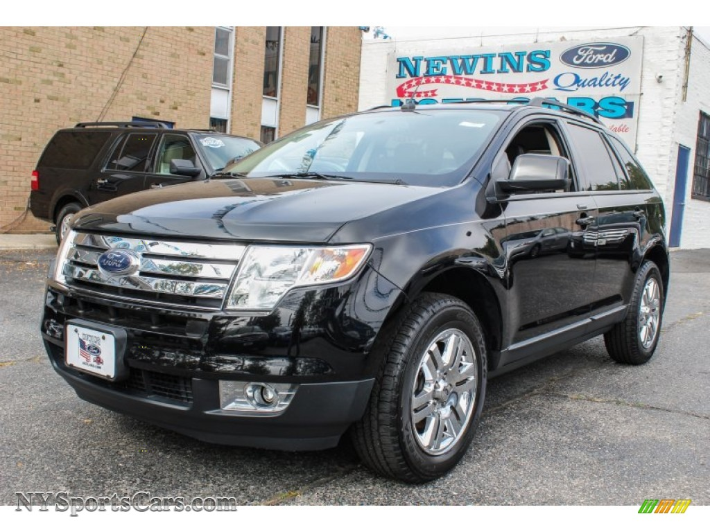2007 ford edge sel plus awd in black b14739 cars for sale in new york. Black Bedroom Furniture Sets. Home Design Ideas