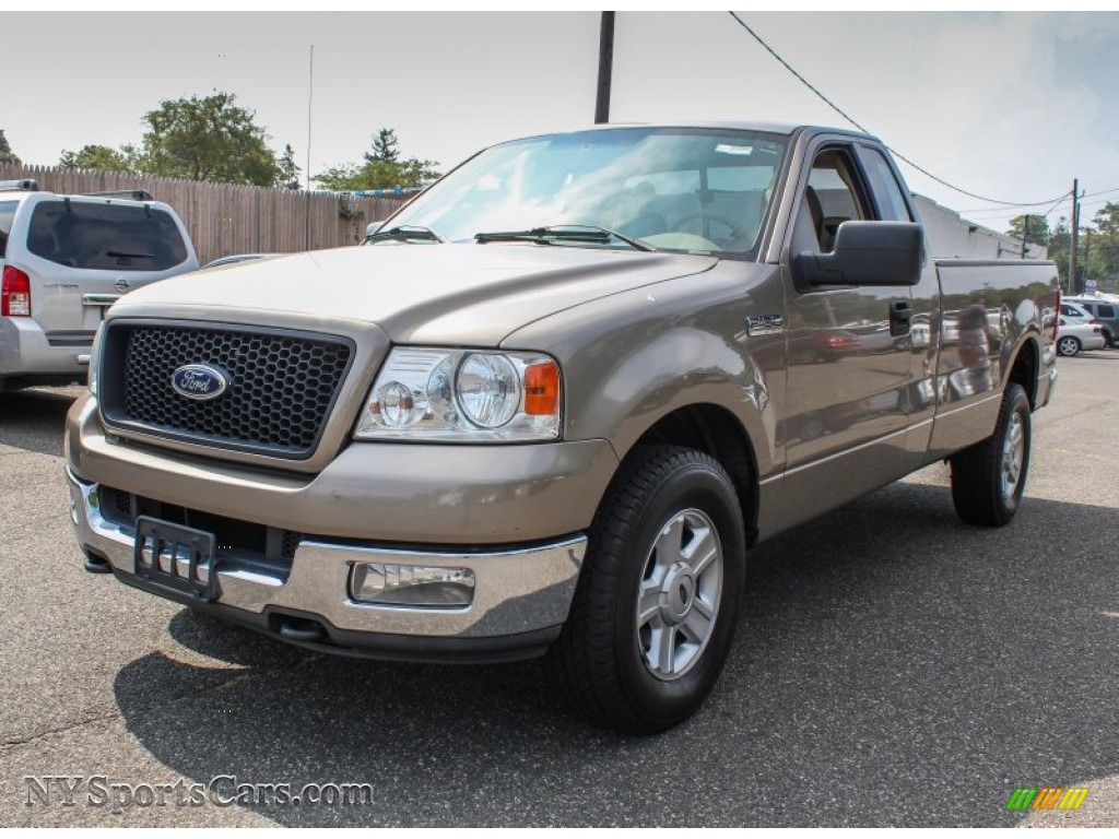 2004 Ford F150 Xlt Regular Cab 4x4 In Arizona Beige Metallic