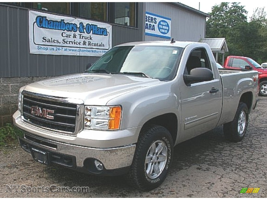 2009 Gmc Sierra 1500 Sle Regular Cab 4x4 In Silver Birch Metallic 159115