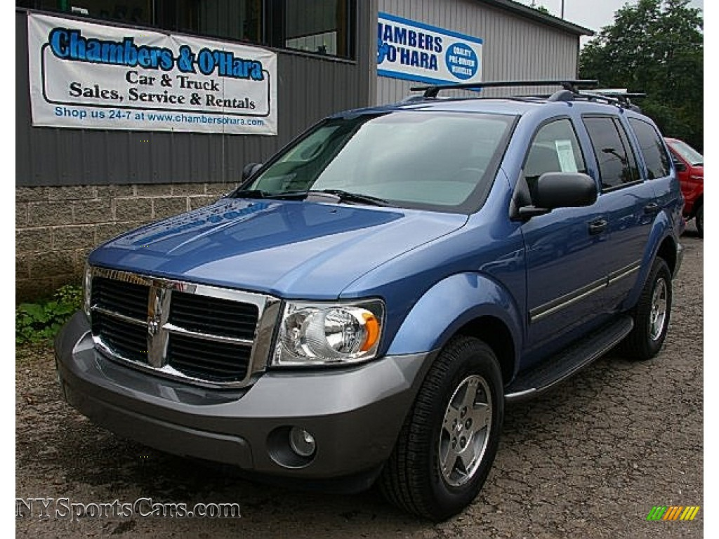 2008 dodge durango adventurer 4x4 in marine blue pearl. Black Bedroom Furniture Sets. Home Design Ideas