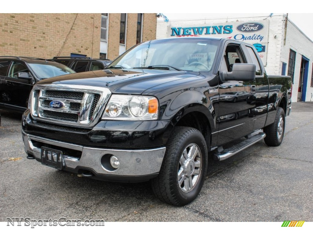 2008 Ford F150 Xlt Supercab 4x4 In Black A45409