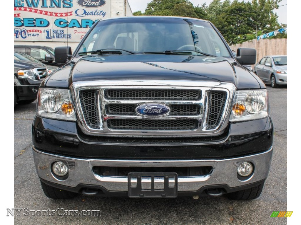 2008 ford f150 xlt supercab 4x4 in black photo 2 a45409 nysportscars com cars for sale in
