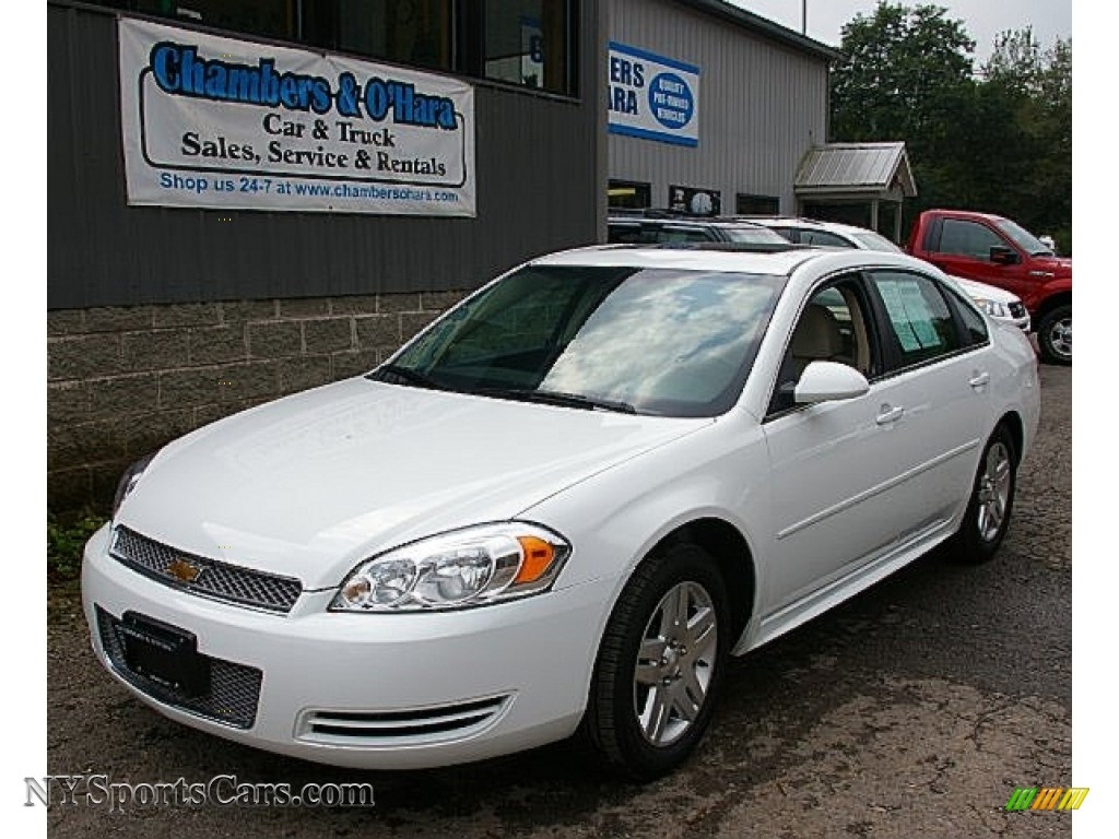 2013 chevrolet impala lt in summit white 101743 cars for sale in new york. Black Bedroom Furniture Sets. Home Design Ideas