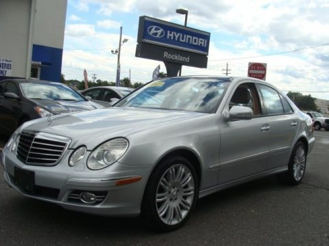 Iridium Silver Metallic 2007 Mercedes-Benz E 350 4Matic Sedan