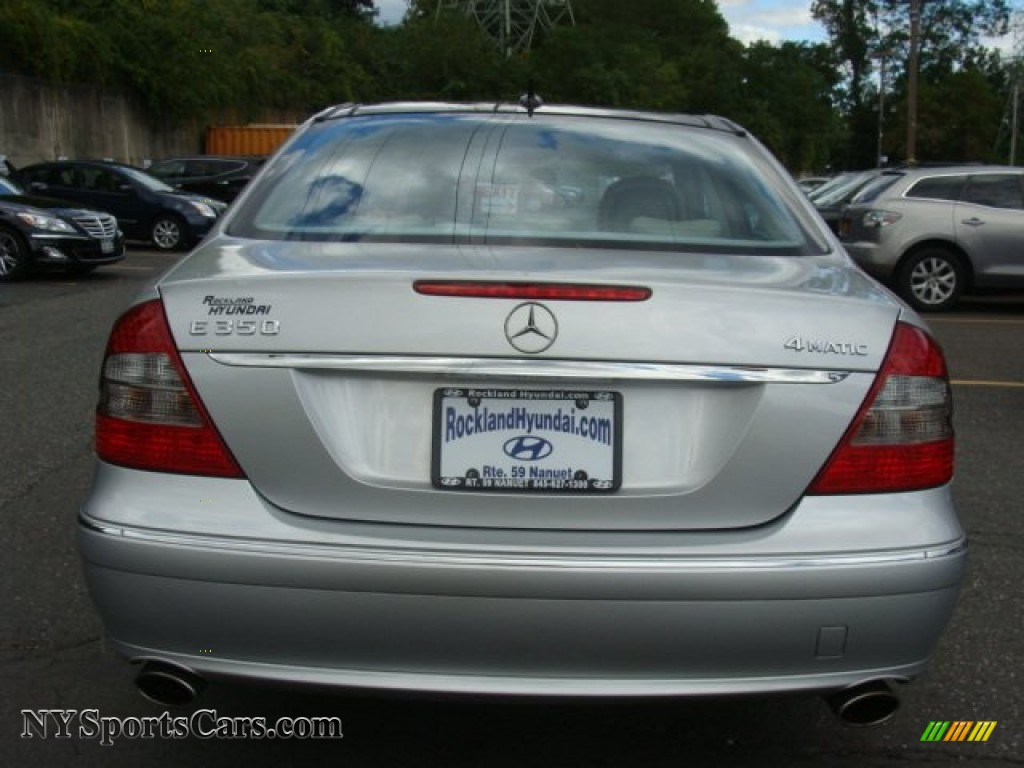 2007 E 350 4Matic Sedan - Iridium Silver Metallic / Cashmere photo #5