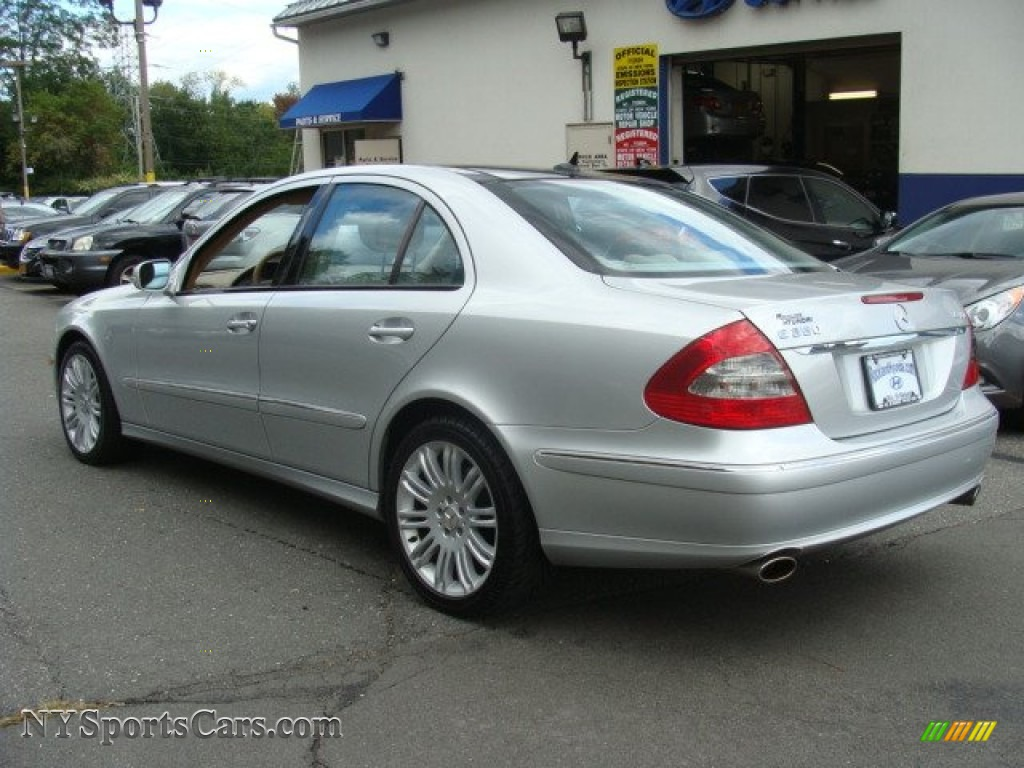 2007 E 350 4Matic Sedan - Iridium Silver Metallic / Cashmere photo #6