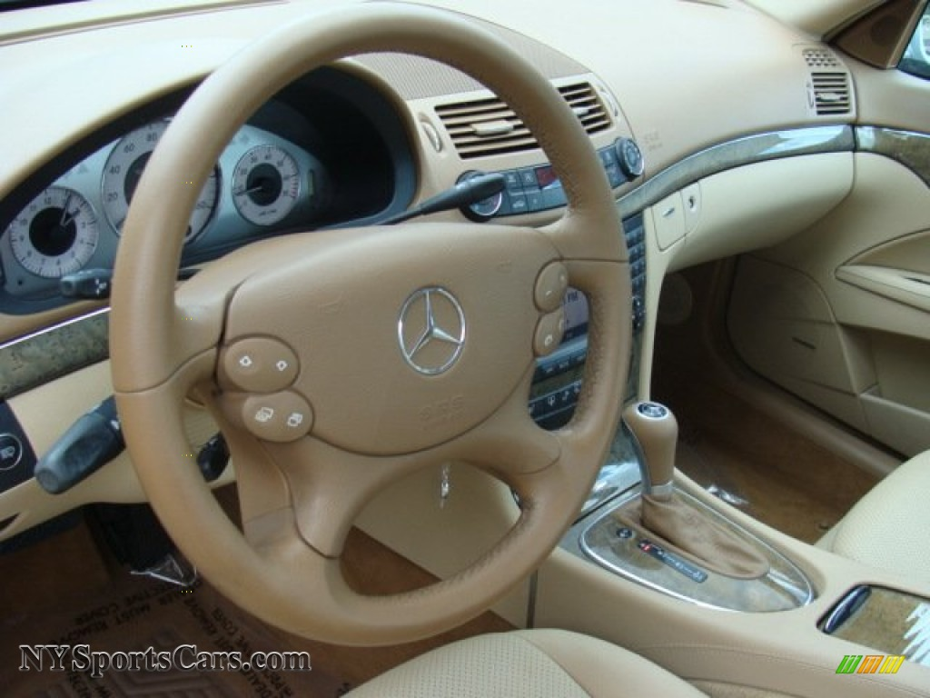 2007 E 350 4Matic Sedan - Iridium Silver Metallic / Cashmere photo #9