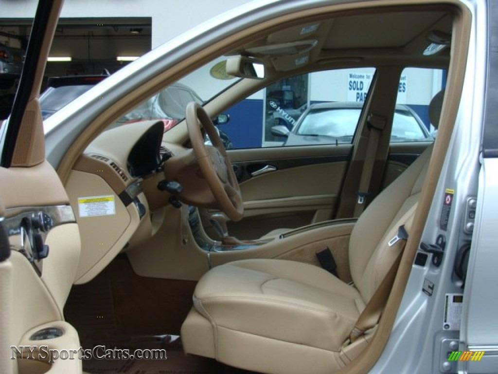 2007 E 350 4Matic Sedan - Iridium Silver Metallic / Cashmere photo #10