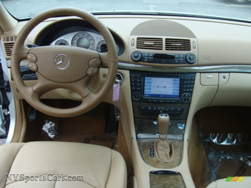 2007 E 350 4Matic Sedan - Iridium Silver Metallic / Cashmere photo #12