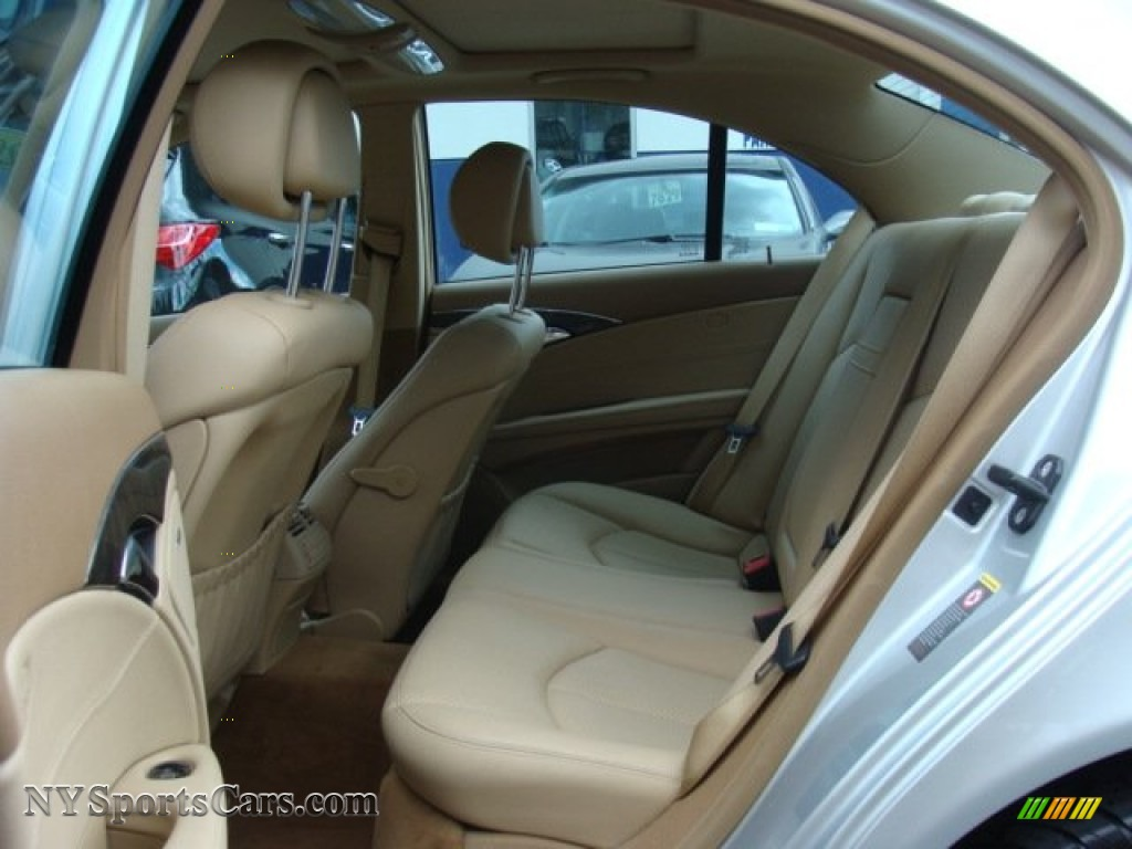2007 E 350 4Matic Sedan - Iridium Silver Metallic / Cashmere photo #19