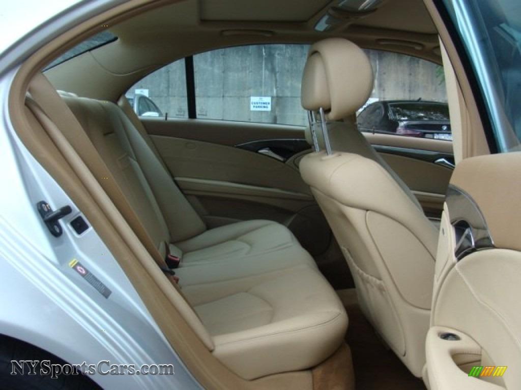 2007 E 350 4Matic Sedan - Iridium Silver Metallic / Cashmere photo #22