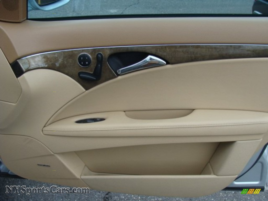 2007 E 350 4Matic Sedan - Iridium Silver Metallic / Cashmere photo #23