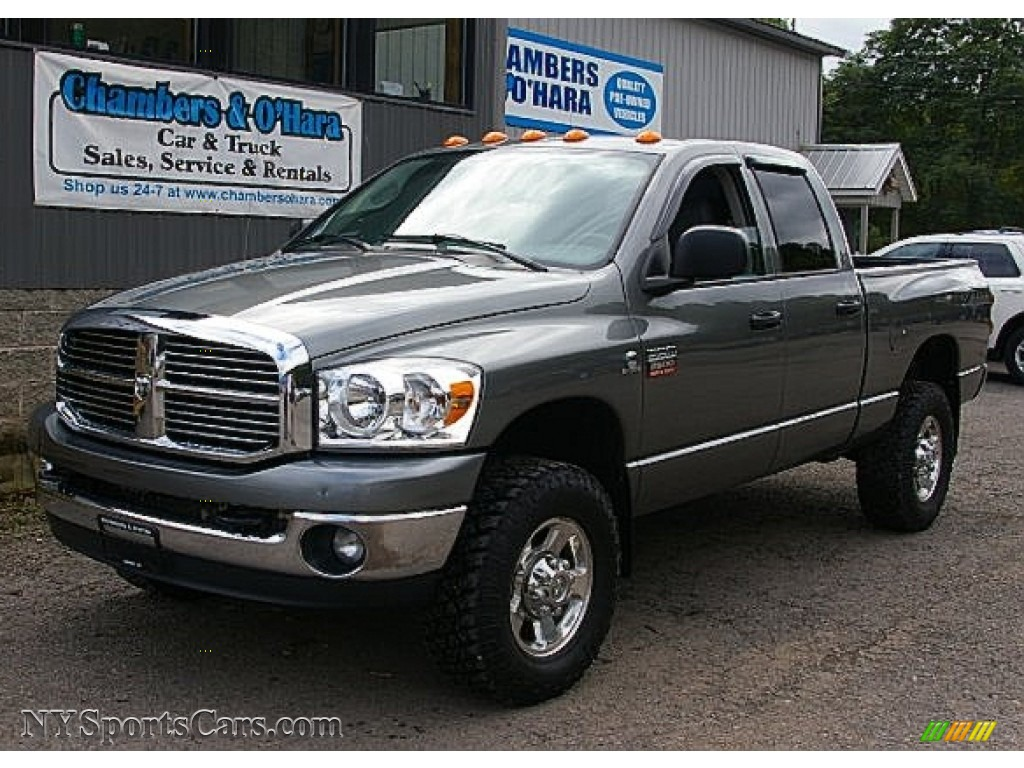 2008 dodge ram 2500 laramie quad cab 4x4 in mineral gray. Black Bedroom Furniture Sets. Home Design Ideas