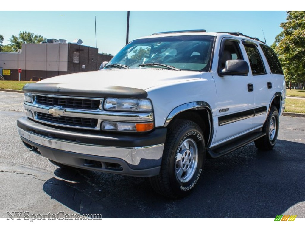2001 chevrolet tahoe ls 4x4 in summit white 118289 cars for sale in new york. Black Bedroom Furniture Sets. Home Design Ideas