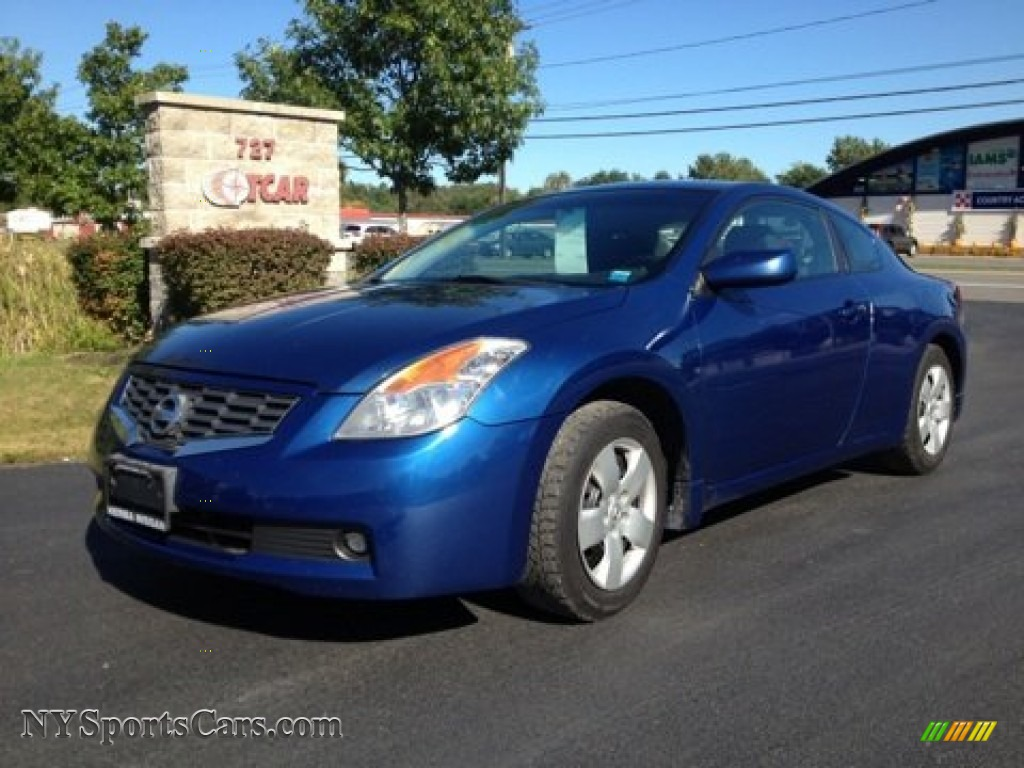 2008 Nissan Altima 2 5 S Coupe In Azure Blue Metallic