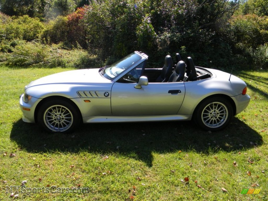 1998 Bmw Z3 2 8 Roadster In Arctic Silver Metallic