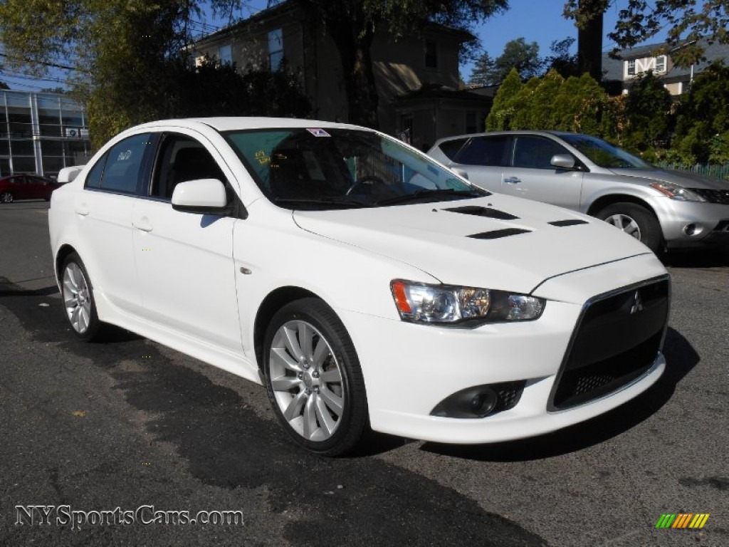 2009 mitsubishi lancer ralliart in wicked white satin 029809 cars for. Black Bedroom Furniture Sets. Home Design Ideas