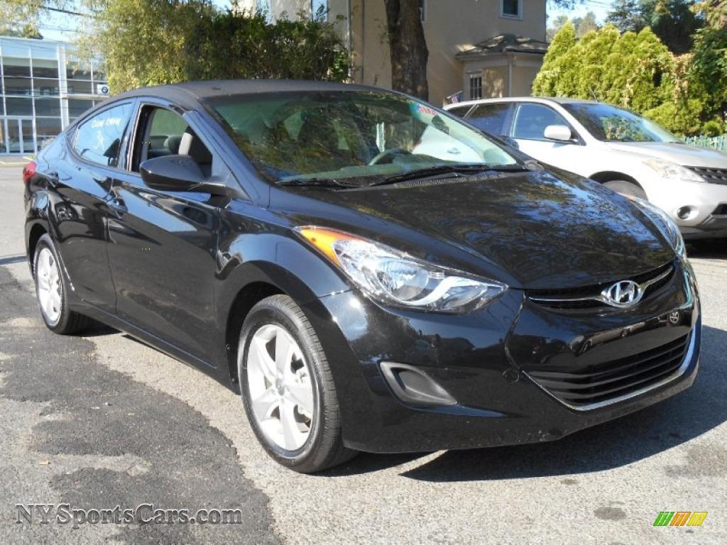 2013 Hyundai Elantra Gls In Midnight Black 368689