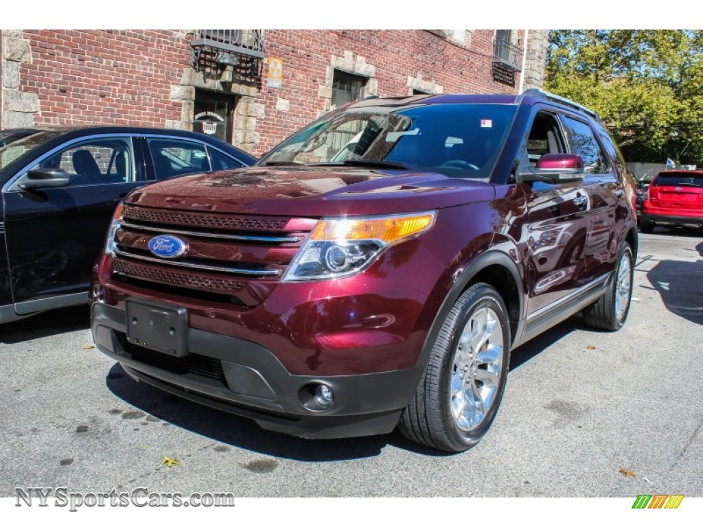 2011 Ford Explorer Limited 4wd In Bordeaux Reserve Red