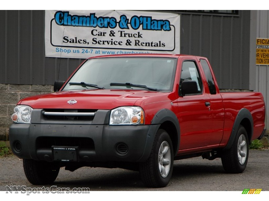 2001 nissan frontier xe king cab in aztec red 304894. Black Bedroom Furniture Sets. Home Design Ideas
