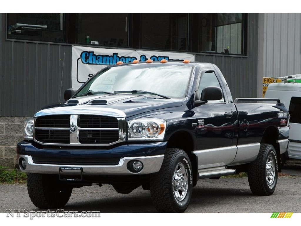 2007 dodge ram 2500 slt regular cab 4x4 in patriot blue pearl