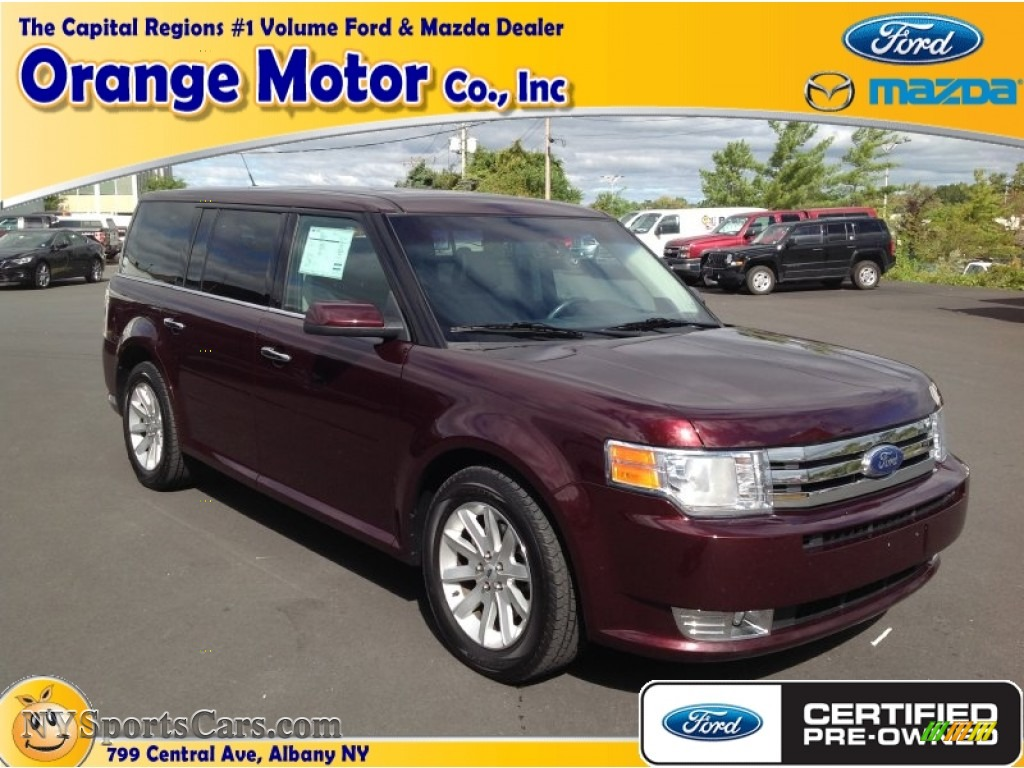2011 ford flex sel awd in bordeaux reserve red metallic for Orange motors albany new york