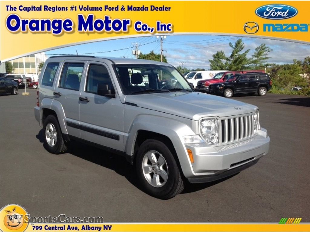 2010 jeep liberty sport 4x4 in bright silver metallic for Orange motors albany new york