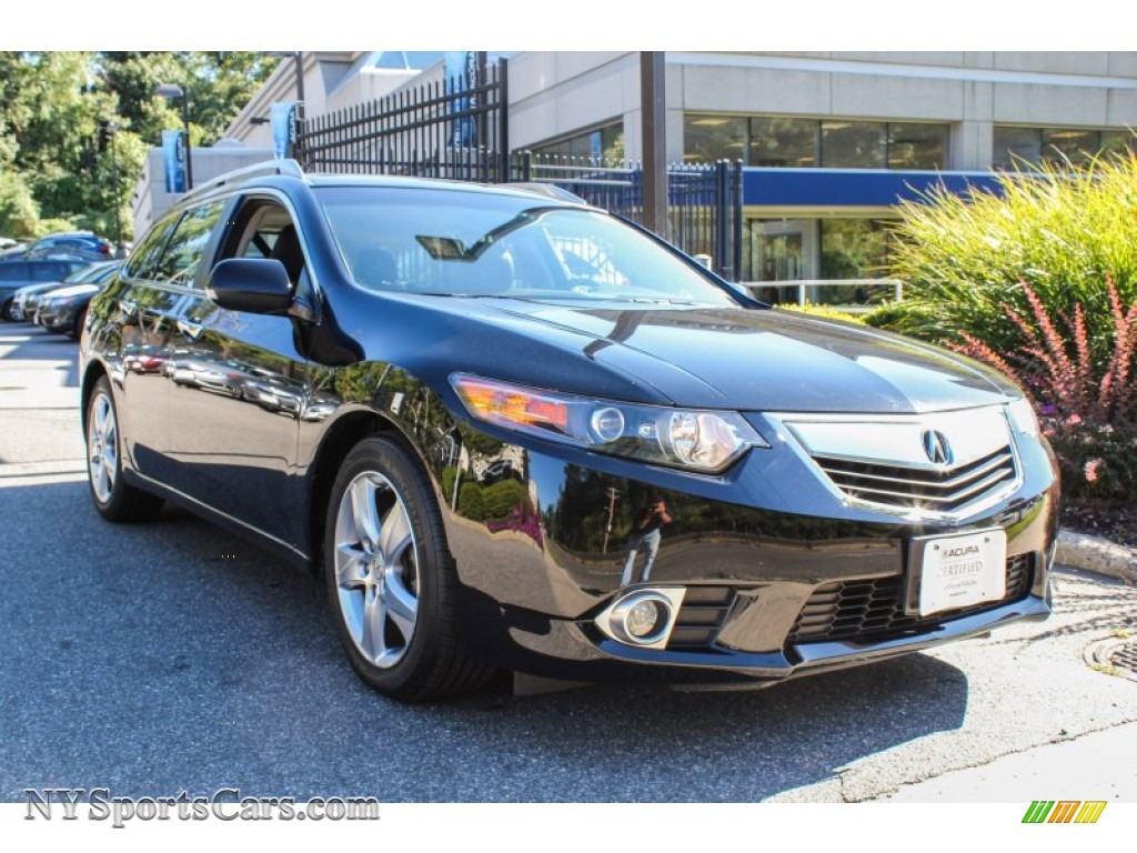 2012 acura tsx technology sport wagon in crystal black pearl 000139 cars. Black Bedroom Furniture Sets. Home Design Ideas