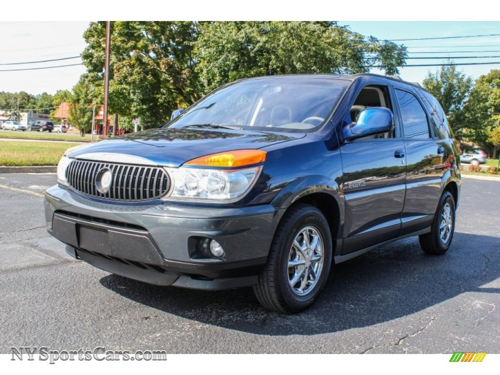 2002 buick rendezvous cxl awd in indigo blue 533508. Black Bedroom Furniture Sets. Home Design Ideas