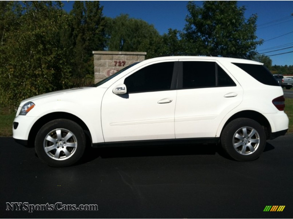 2006 mercedes benz ml 350 4matic in alabaster white for Mercedes benz ml 2006 for sale