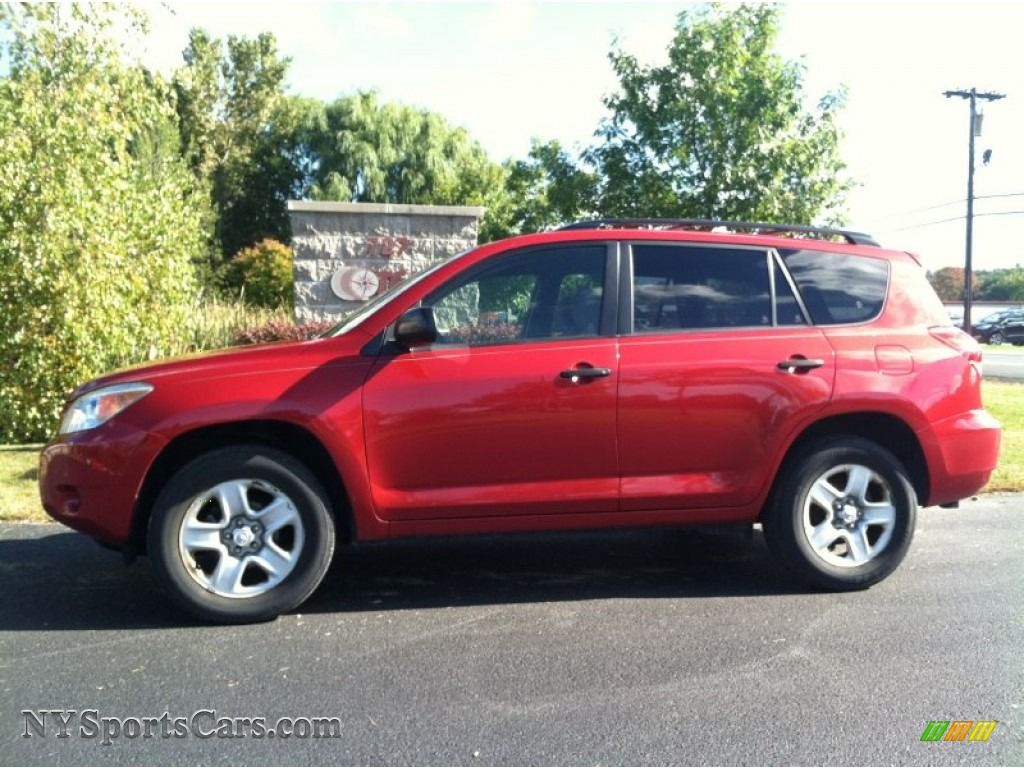 2007 toyota rav4 4wd in barcelona red pearl 080404 cars for sale in new york. Black Bedroom Furniture Sets. Home Design Ideas