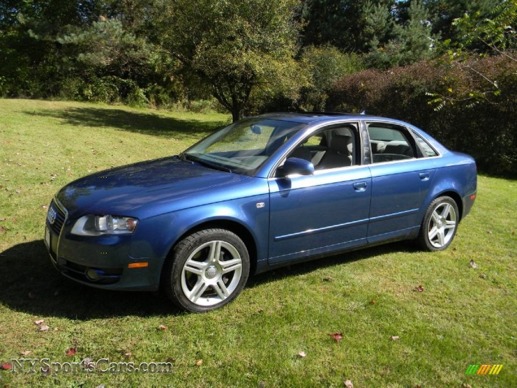 2007 audi a4 2 0t quattro sedan in ocean blue pearl effect. Black Bedroom Furniture Sets. Home Design Ideas