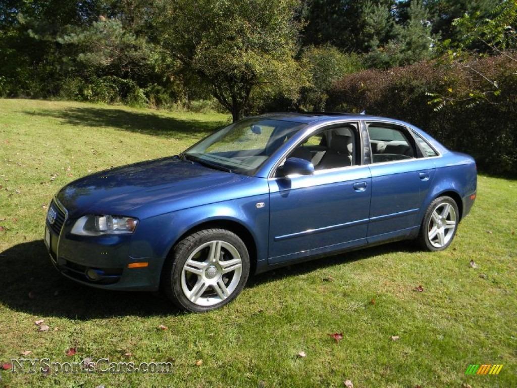 2007 audi a4 2 0t quattro sedan in ocean blue pearl effect 234276 cars. Black Bedroom Furniture Sets. Home Design Ideas