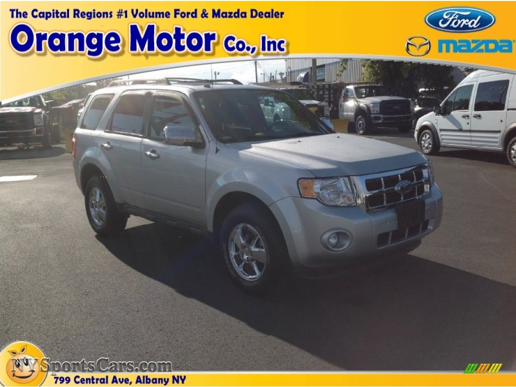 2012 ford escape xlt 4wd in ingot silver metallic c34497 for Orange motors albany new york