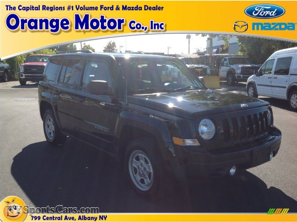 2012 jeep patriot sport 4x4 in black photo 18 608579 for Orange motors albany new york