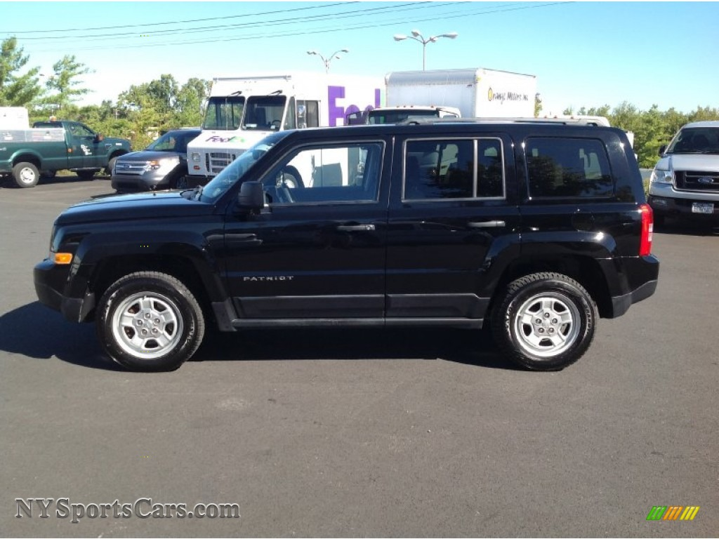 2012 Jeep Patriot Sport 4x4 In Black Photo 4 608579