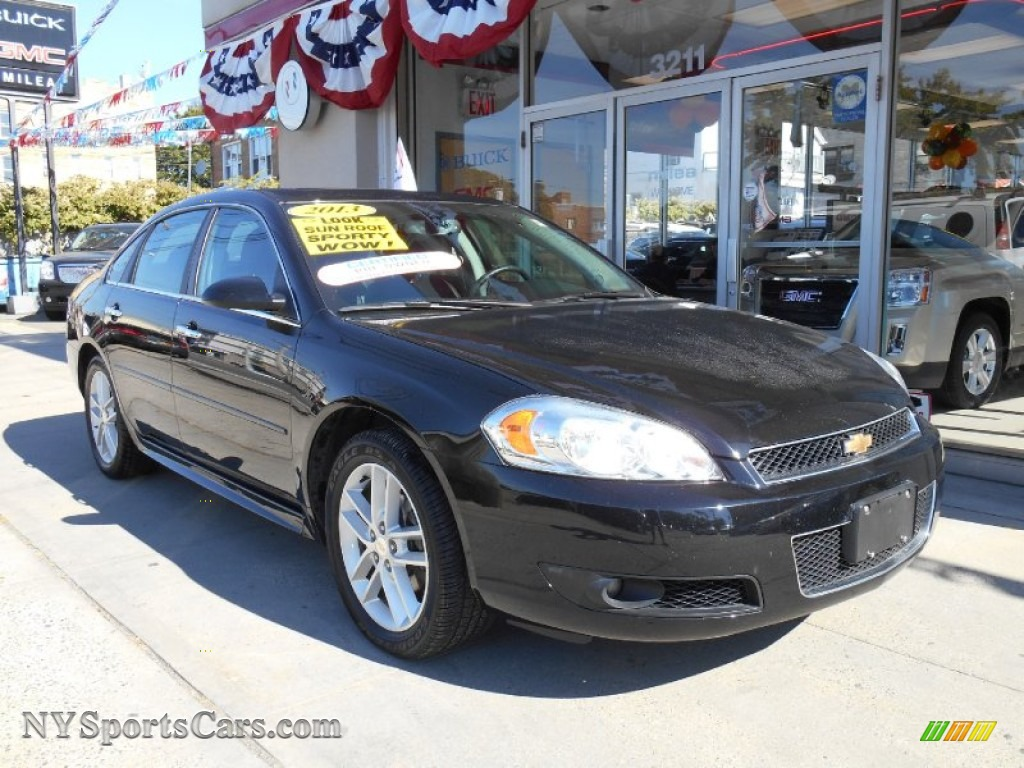 2013 Chevrolet Impala Ltz In Black 137029 Nysportscars