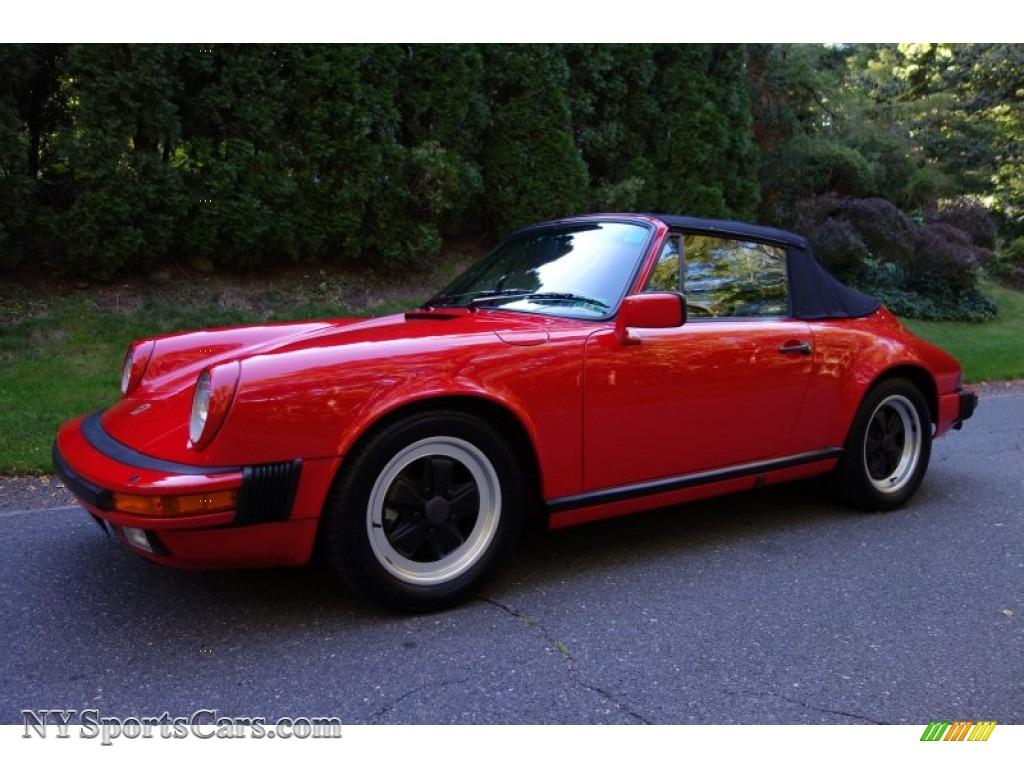 1986 porsche 911 carrera targa in guards red 170898 guards red black porsche 911 carrera targa vanachro Gallery