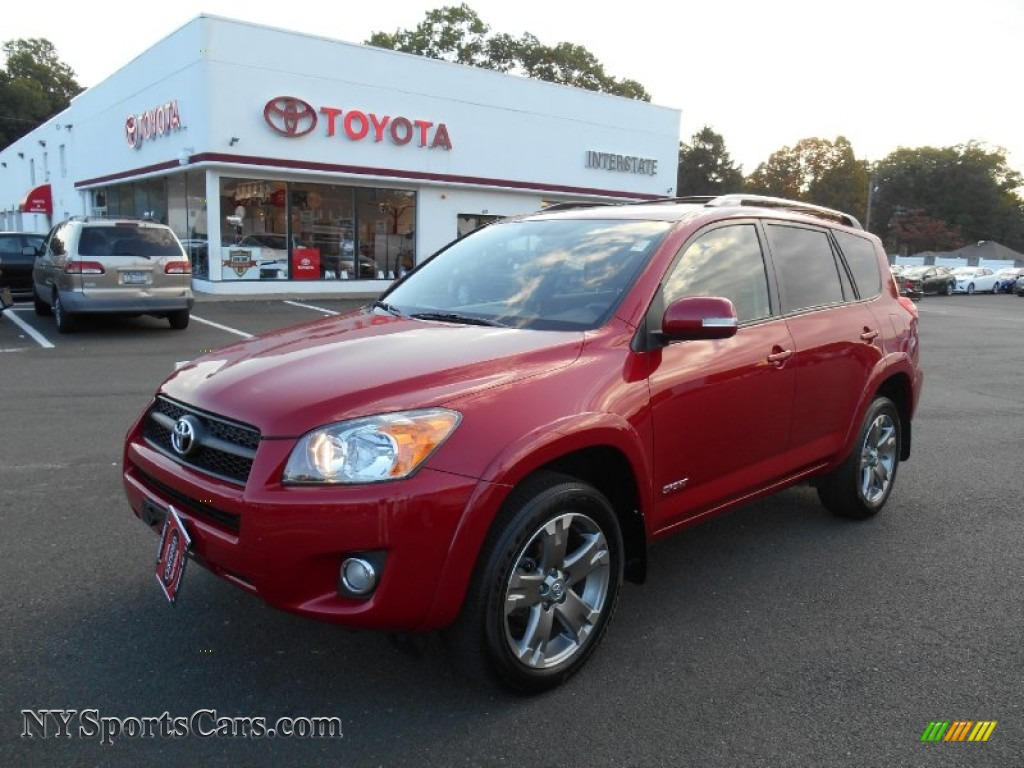 2010 Toyota RAV4 Sport 4WD in Barcelona Red Metallic ...