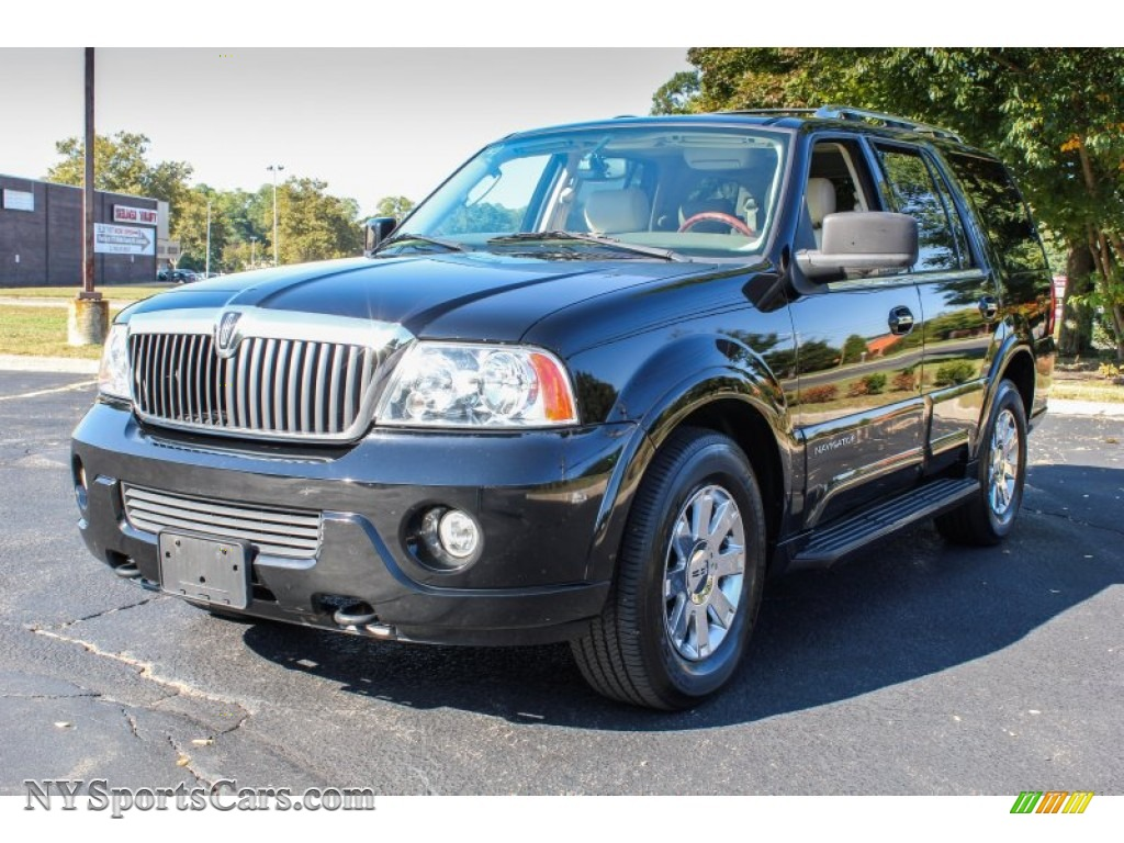 2004 lincoln navigator luxury 4x4 in black clearcoat j02030 cars for sale. Black Bedroom Furniture Sets. Home Design Ideas
