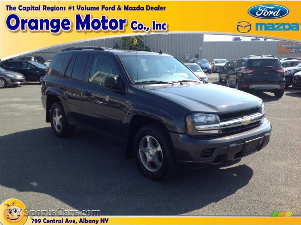 2007 chevrolet trailblazer ls 4x4 in graphite metallic for Orange motors albany new york
