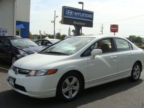 Taffeta White 2006 Honda Civic EX Sedan